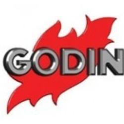Foyer insert bouilleur à bois INSERT BOUILLEUR 660144 - Habillage en fonte et acier de GODIN