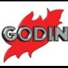 Foyer insert porte relevable à bois INSERT 660147 - Habillage en fonte et acier de GODIN