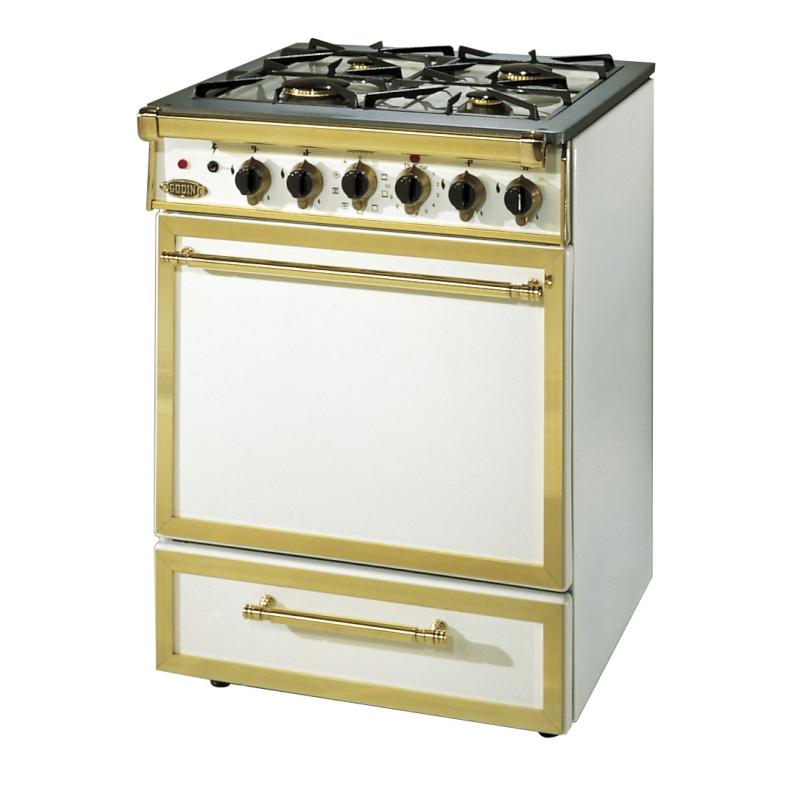 Poêle à bois L'ARIEGEOIS 3708 Finition acier émaillé de GODIN