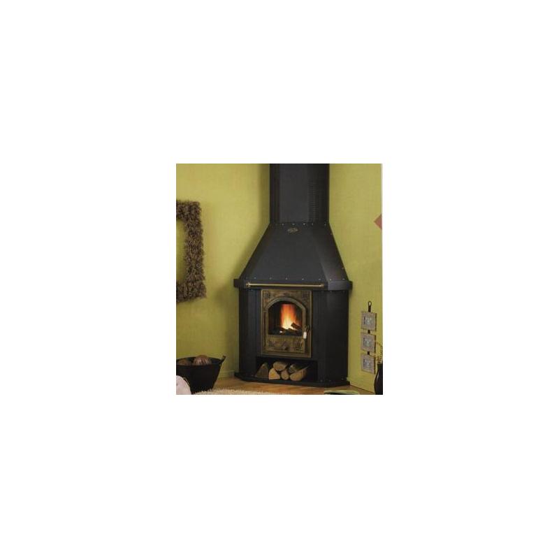 Cuisinière GODIN à bois L'Arpège brun - 230157
