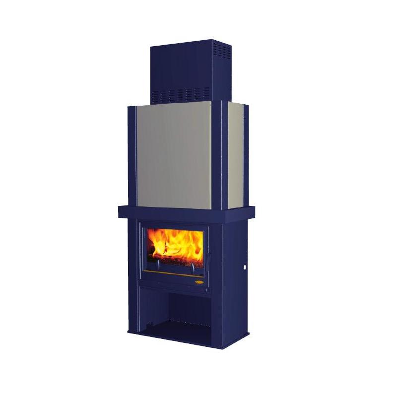 Cuisinière GODIN à bois L' Arpège brun 240151
