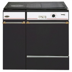 Cuisinière à bois godin L'Arpège noir - 230154