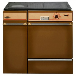 Cuisinière à bois godin L'Arpège brun - 230154