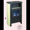Poêle-cheminée GODIN à bois LE BERGAMOTTE