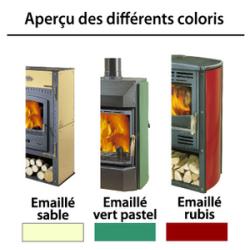 Poêle-cheminée à bois LE NEROLI
