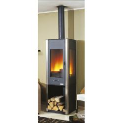 po le gaz petit jurassien 3403 peint po le bois godin. Black Bedroom Furniture Sets. Home Design Ideas