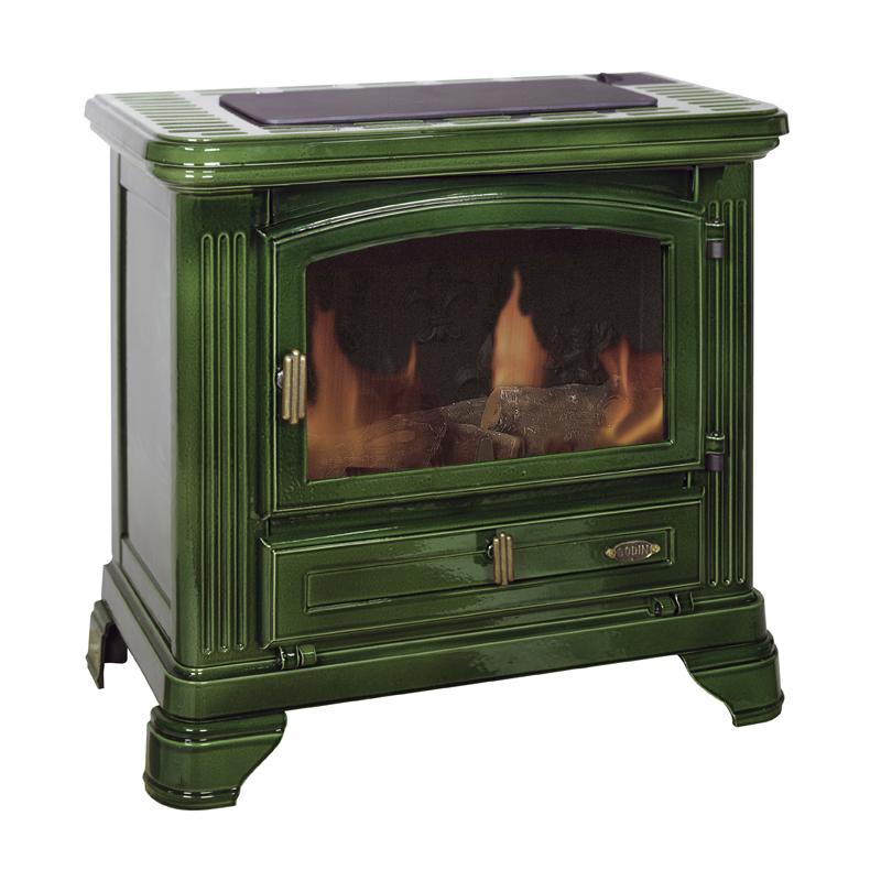 Poêle GODIN à bois Le Castres 371125 Peint anthracite