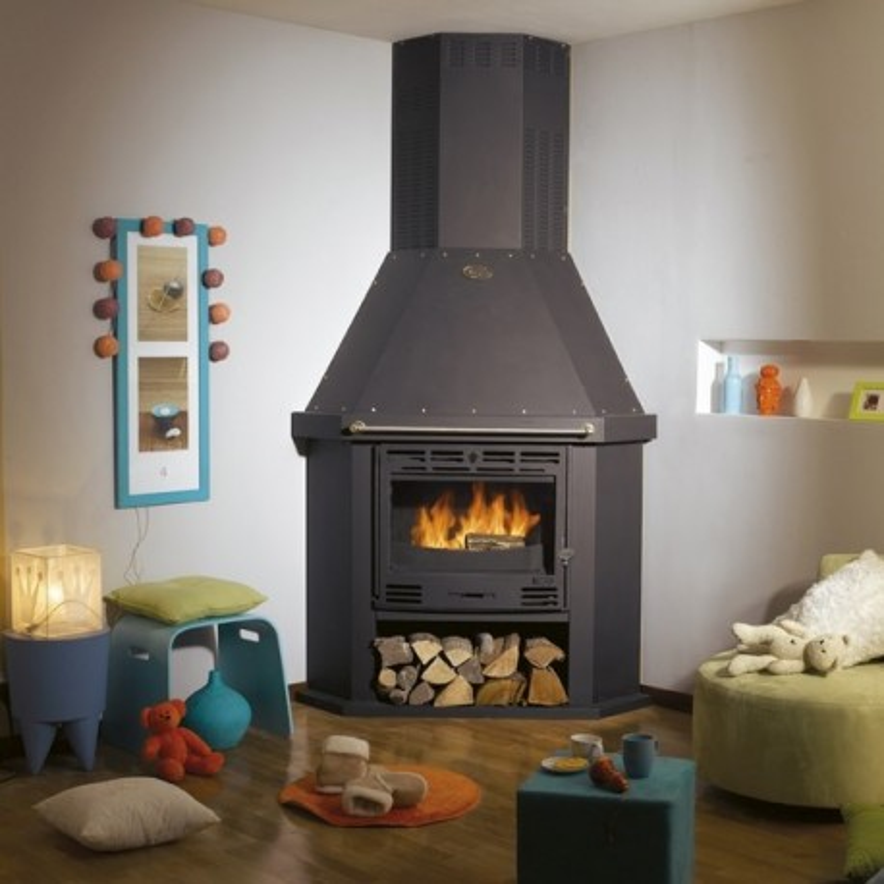 po le godin cantou d 39 angle 680114 po le bois godin. Black Bedroom Furniture Sets. Home Design Ideas