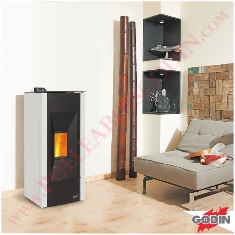 po le granul s godin landogne 9 kw po le bois godin. Black Bedroom Furniture Sets. Home Design Ideas