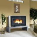 Poêle à bois LE PETIT GODIN 3721 Finition acier émaillé + fonte émaillée ou peinte anthracite de GODIN