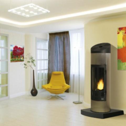 poele a bois 14kw godin. Black Bedroom Furniture Sets. Home Design Ideas